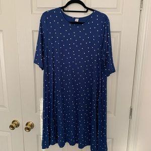 NWOT Old Navy Polka Dot Swing Dress